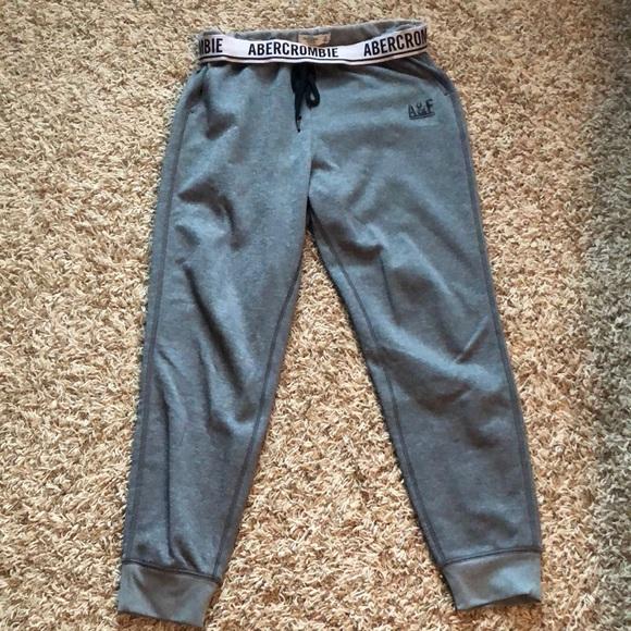 ce169a73d8 Abercrombie & Fitch Pants - Abercrombie & Fitch jogger sweatpants small
